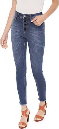 f6f96d8c5 Maria Filó Calça Jeans Maria Filó Skinny Botões Azul