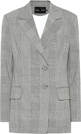 Proenza Schouler Checked stretch wool blazer