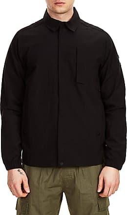 Weekend Offender Sorvino Overshirt Jacket Black - M