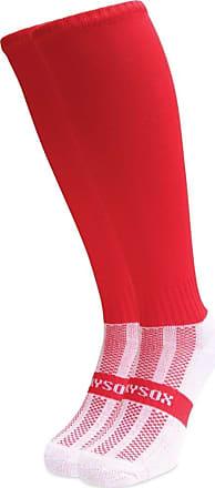 Wackysox Plain Red No Turnover Equestrian Riding Socks