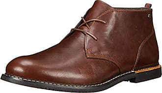 Timberland Mens EK Brook Park Chukka Boot,Red/Brown Smooth,8 M US