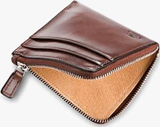 Il Bussetto Zip Wallet Dunkelbraun - OS / Dark Brown
