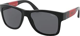 Polo Ralph Lauren PH 4162 Mens Sunglasses Black/Grey 54/17/140
