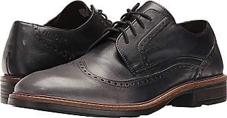 cde243d6ed8a Naot Magnate - Hand Crafted (Gray Black Leather) Mens Shoes