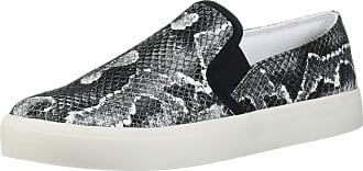 Jessica Simpson Womens Dinellia Sneaker, Black/White, 5.5