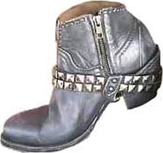 KingRover Womens Winter Pleated Casual High Heel Mid Calf Slouch Western Boots