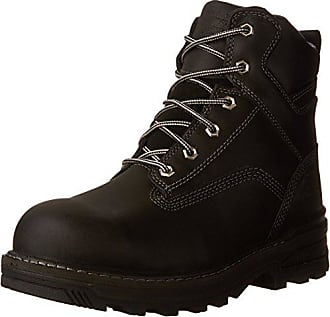 Timberland PRO Mens 6 Resistor CSA Work Boot, Black Full-Grain Leather, 7.5 W US