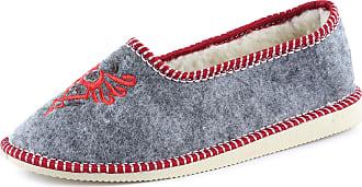 Ladeheid Women´s Felt Slippers Shoes Flipflops PFF073 (Melange, 41 EU = 7.5 UK)