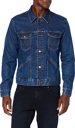 Wrangler Mens Icons Jeans Jeansjacke, Blue (6 Months 923), XXX-Large