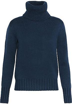 N.Peal N.peal Woman Cashmere Turtleneck Sweater Navy Size XS