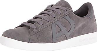 Armani Jeans Herren Schuhe Sneakers AJ 935565 CC501 00041 Grigio Wildleder  Logo 5925e419623