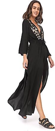 Enfim Vestido Enfim Longa Alongada Preta