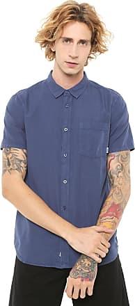 Element Camisa Element Reta Bennet Lisa Azul