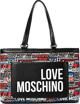 Love Moschino Jc4089pp1a Womens Tote, Silver (Argento), 12x26x40 centimeters (W x H x L)