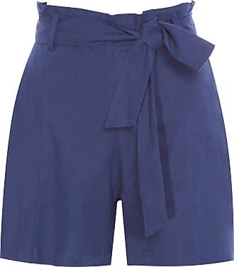 Bobstore Short Clochard Linho - Azul