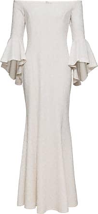 BODYFLIRT boutique Dam Aftonklänning med glittrande leopardmönster i vit  3 4-ärm - BODYFLIRT efe69ddac2aeb