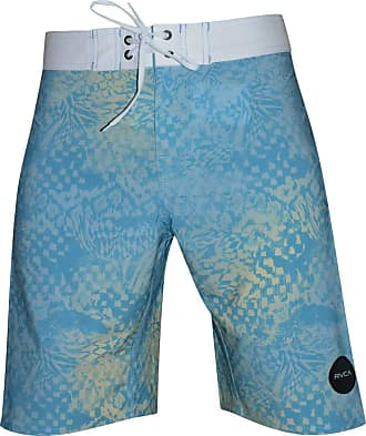 Rvca Bermuda Rvca South Easter Print Trunk