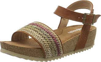 Refresh Womens 69610 Open Toe Sandals, Brown (Camel Camel), 5.5 UK