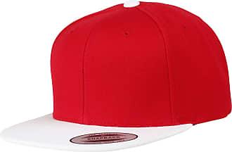 Yupoong Flexfit Unisex Classic Varsity Snapback Cap (One Size) (Red/White)