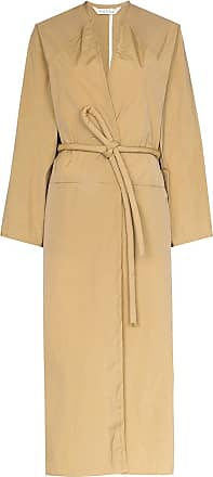 Kassl Editions Trench coat com transpasse frontal - Marrom