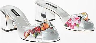 Dolce & Gabbana Leather KEIRA Mules with Mirrored Heel 6 cm Größe 37,5
