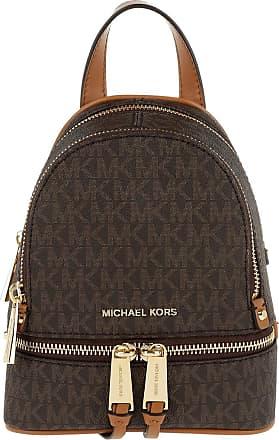 Michael Kors Backpacks - Rhea Zip Messenger Backpack Brown - brown - Backpacks for ladies