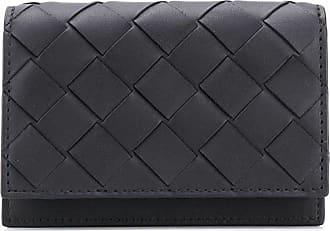 Bottega Veneta Intrecciato folding wallet - Preto