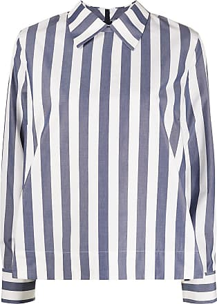Ymc You Must Create striped shirt - Blue