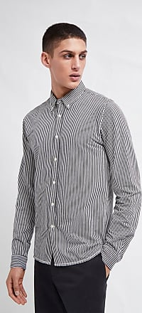 French Connection Micro Stripe Jersey Shirt