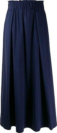 Guardaroba Saia longa cintura alta - Azul