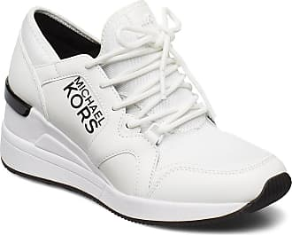 Michael Kors Liv Trainer Låga Sneakers Vit Michael Kors Shoes