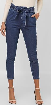 Vero Moda Calça Jeans Vero Moda Chino Clochard Azul