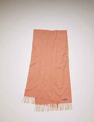 Acne Studios Canada Nr New Rose Melange Narrow wool scarf