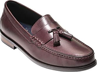 1070ae864f4 Cole Haan Mens Pinch Friday Tassel Contemporary Penny Loafer Cordovan  Handstain 9.5 M US