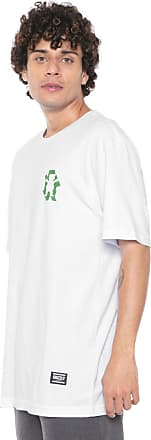 Grizzly Camiseta Grizzly Leaf Cutout Branca