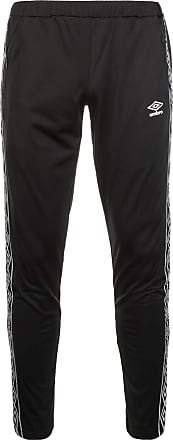 Umbro Retro Taped Tricot Trousers Jogging Bottoms F060, Black, XL