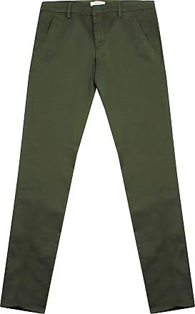 Dondup Pantalone Uomo in Cotone Verde UP235GSE045 Verde 30
