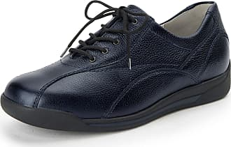 Waldläufer Lace-up shoes Hilli in cowhide nappa Waldläufer blue