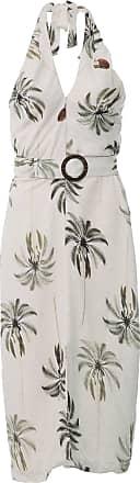 Lez a Lez Vestido Frente Única Lez a Lez Midi Coconut Off-White
