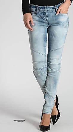 Balmain Stretch Denim Jeans 12 cm size 38
