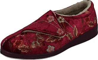 Padders Womens Amelia Low-Top Slippers, Multicolour (Wine 16), 3 (36 EU)