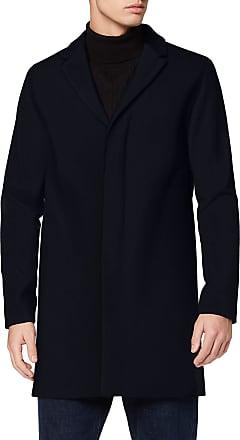 Selected Homme Mens Slhbrove Wool Coat B Noos, Blue (Dark Sapphire Dark Sapphire), Medium