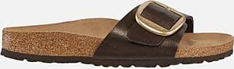 Birkenstock Madrid Buckle slippers bruin