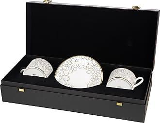 Roberto Cavalli Giraffe Teacup & Saucer - Set of 2 - Luxury Gift Set