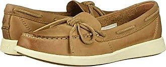 Sperry Top-Sider Womens Oasis Canal Boat Shoe, Tan, 7 M US
