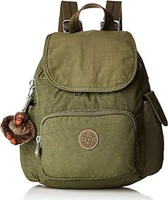 77247a5a9a Kipling City Pack Mini - Zaini Donna, Verde (Jaded Green C)