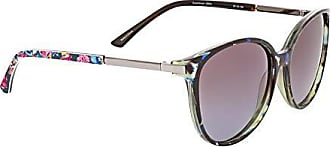 Vera Bradley Womens Tori Polarized Round Sunglasses Pretty Posies 57 mm