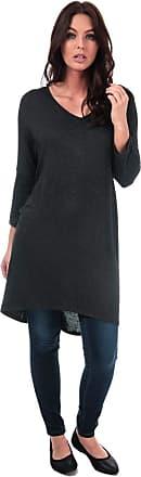 Womens Vero Moda Paya Knot Jersey Top In Night Sky