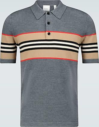 Burberry Foxford Icon striped polo shirt