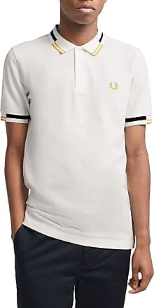 Fred Perry Abstract Tipped Polo, Polo Shirt - L Beige